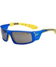 Cebe Ice 8000 elektrisch blauw gele zonnebril