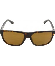 Emporio Armani Ea4035 58 moderne donkere havana 502.683 gepolariseerde zonnebril