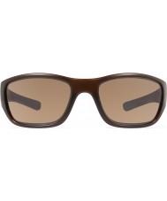 Revo Re4058 rubriek matte bruine - terra gepolariseerde zonnebril