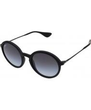 RayBan Rb4222 50 jongere zwart rubber 622-8g zonnebril