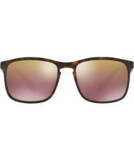 RayBan Rb4264 58 tech chromance matte havana 894-6b bruin spiegel gepolariseerde zonnebril