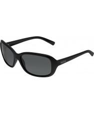 Bolle Molly glanzende zwarte gepolariseerde tns zonnebril