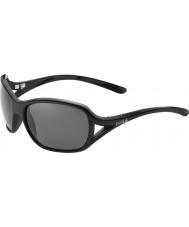 Bolle Solden glanzende zwarte gepolariseerde tns zonnebril