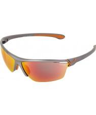 Cebe Cinetik grote metallic grijs zonnebrillen
