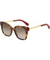 Kate Spade New York Dames caelyn 65t ha 52 zonnebrillen