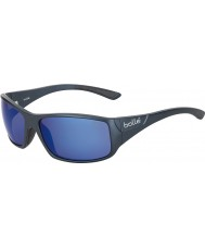 Bolle Kingsnake mat blauw gepolariseerde offshore-blauwe zonnebril