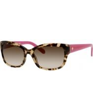 Kate Spade New York Ladies johanna-s RYP y6 havana roze zonnebril