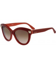 Valentino Ladies v695s engels rode zonnebril
