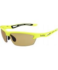 Bolle Bolt neon gele modulator v3 golf zonnebril