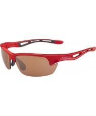 Bolle Bolt s glimmende rode modulator v3 golf zonnebril