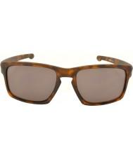 Oakley Oo9262-03 lont matte bruine vos - warm grijs zonnebril