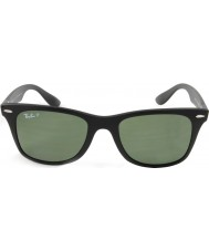 RayBan Rb4195 52 wayfarer liteforce matzwarte 601s9a gepolariseerde zonnebril