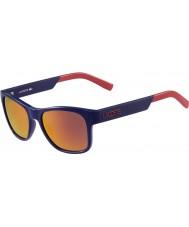 Lacoste L829s blauwe zonnebril