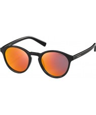 Polaroid Pld6013-s D28 oz glanzende zwarte gepolariseerde zonnebril