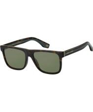 Marc Jacobs Heren marc 275 s 086 qt 55 zonnebrillen