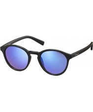 Polaroid Pld6013-s DL5 jy mat zwart gepolariseerde zonnebril