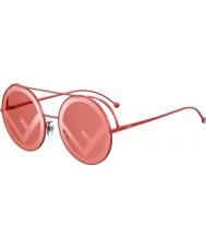 Fendi Dames ff0285 s c9a 0l 63 rennen een zonnebril uit