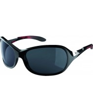 Bolle Grace glanzend zwart koraal gepolariseerde tns zonnebril