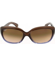 RayBan Rb4101 58 jackie ohh bruine helling lila 860-51 zonnebril