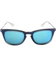 RayBan Rb4221 50 jongeling schoot blauwe rubberen 617.055 zonnebril