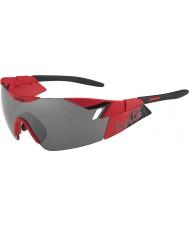 Bolle 6e zintuig mat rood zwart tns pistool zonnebril