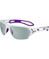 Cebe Cbstl14 s-track l witte zonnebril