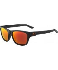 Cebe Hacker mat grijs 1500 grijs flash mirror oranje zonnebril