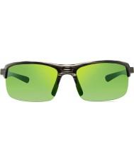 Revo Re4066 crux n greige houtnerf - groen water gepolariseerde zonnebril