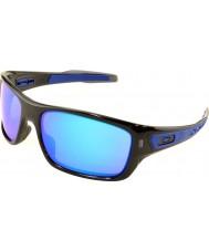Oakley Oo9263-05 turbine zwarte inkt - saffier iridium zonnebril