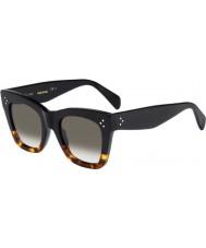 Celine Ladies cl 41.090-s fu5 z3 zwart schildpad zonnebril