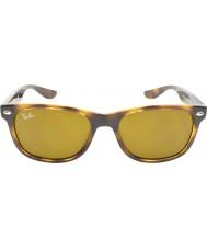 RayBan Junior Rj9052s 47 nieuwe wayfarer glanzend havana 152-3 zonnebril
