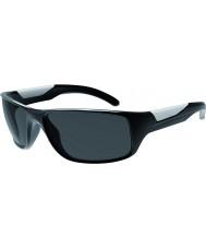 Bolle Vibe glanzende zwarte gepolariseerde tns zonnebril
