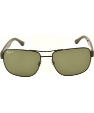 RayBan Rb3530 58 Highstreet gunmetal 002-9a gepolariseerde zonnebril