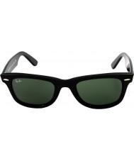 RayBan Rb2140 originele wayfarer zwart - groen
