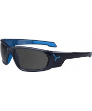 Cebe S-cape grote antraciet blauw gepolariseerde zonnebril