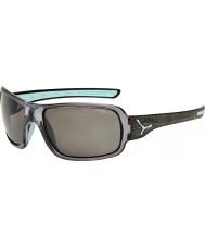 Cebe Changpa geborsteld grijs gepolariseerde zonnebril