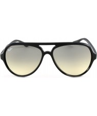 RayBan RB4125 59 katten 5000 zwarte zonnebril 601-32