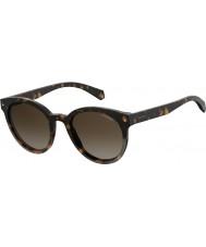 Polaroid Dames pld 6043 s 086 la 51 zonnebrillen