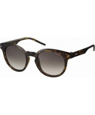 Polaroid Mens pld2036-s 086 94 donkere havana gepolariseerde zonnebril