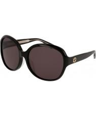Gucci Ladies gg0080sk 001 zonnebril
