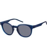 Polaroid Mens pld2036-s m3q c3 blauwe gepolariseerde zonnebril
