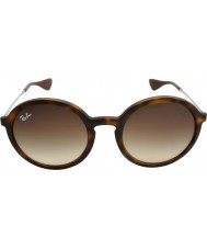 RayBan Rb4222 50 youngster rubber schildpad 865-13 zonnebril