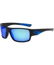 Cebe Whisper mat zwart blauwe zonnebril