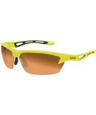 Bolle Bolt neon gele modulator oranje zonnebril