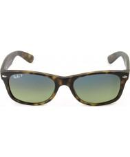 RayBan RB2132 55 nieuwe wayfarer mat schildpad 894-76 gepolariseerde zonnebril