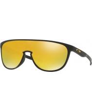 Oakley Oo9318-06 trillbe matzwart - 24k iridium zonnebril