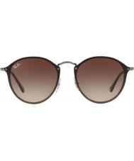RayBan Blaze round rb3574n 59 004 13 zonnebrillen
