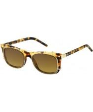 Marc Jacobs Marc 17-s U63 vo havana gouden zonnebril