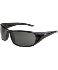 Bolle Blacktail glanzende zwarte gepolariseerde tns zonnebril