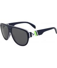 Cebe Miami donker blauw groen 1500 grijze flash mirror zonnebril
